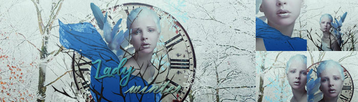 firma e icons lady winter by SilvanaLB