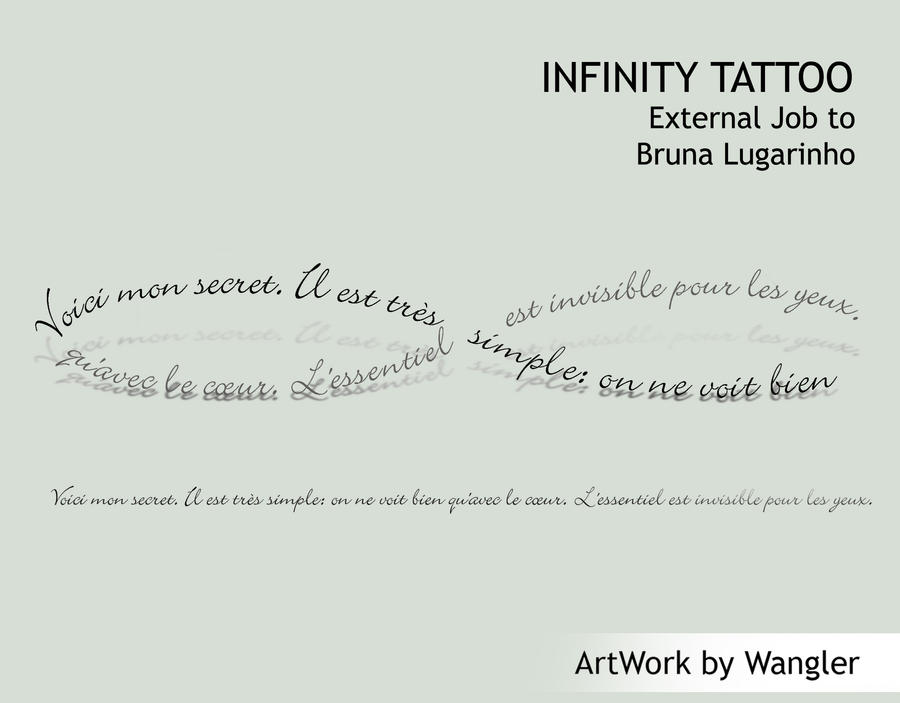 Commission Infinity Tattoo by Wangler