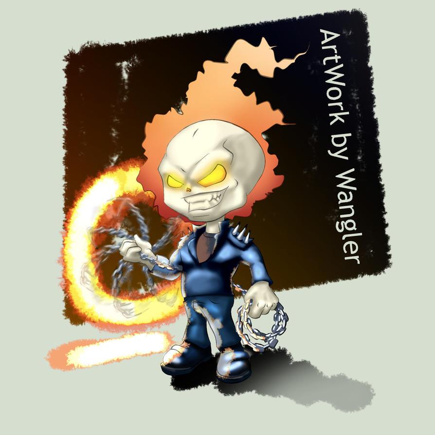 Chibi Ghost Rider by Wangler on DeviantArt