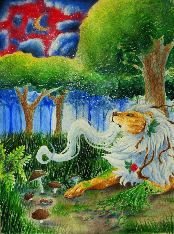 Magical Woods by DragonOfAkasha