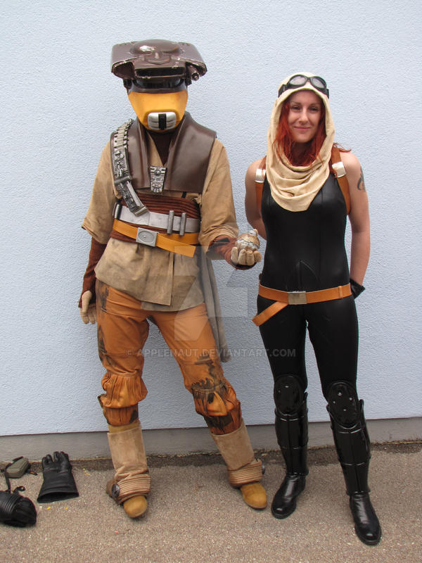 Boushh and Mara Jade by Applenaut ...  sc 1 st  DeviantArt & Boushh and Mara Jade by Applenaut on DeviantArt