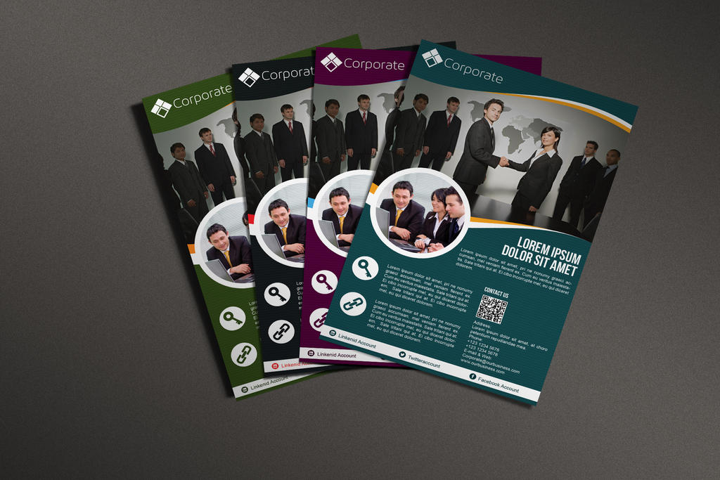 Corporate Business Template by afizs
