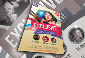 Party Flyer by afizs