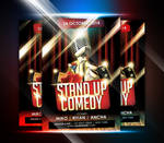 StandUp Comedy Event Flyer