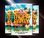 Tropic Party Flyer