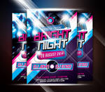 Bright Night Party Flyer