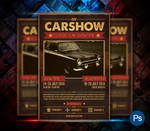 Car Show Event Flyer