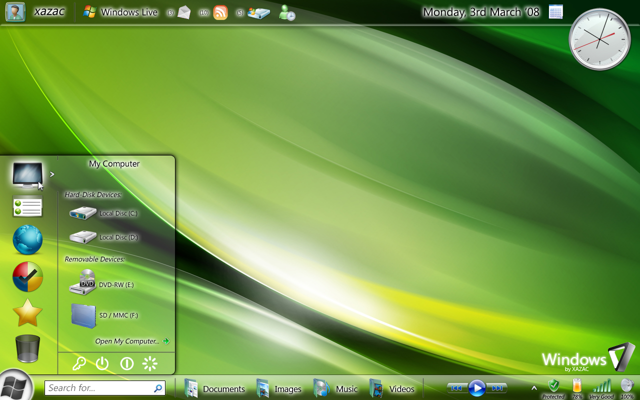 http://fc01.deviantart.com/fs30/f/2008/055/0/6/Windows_Seven_March_08_Concept_by_xazac87.jpg