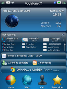 Windows Mobile Seven 2