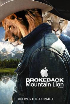 Brokeback Mountain Lion