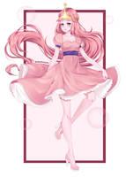 Princess Bubblegum by BakaMinori