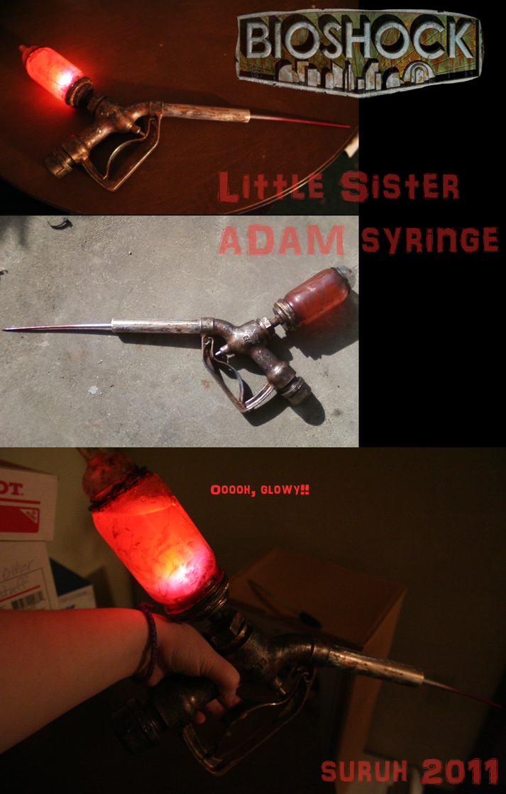 Bioshock ADAM syringe by Suruh