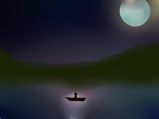 Bluemoon by mehshania