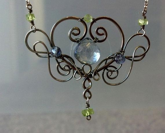 Winged Nights Necklace by Brandavir