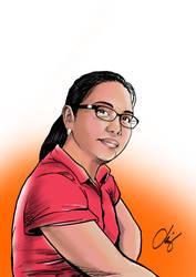 Portrait two. by Quicksilver-Z