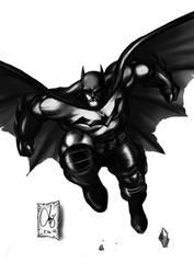 BATMAN THE DARK KNIGHT by Quicksilver-Z