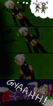 Haseo thinks he's safe