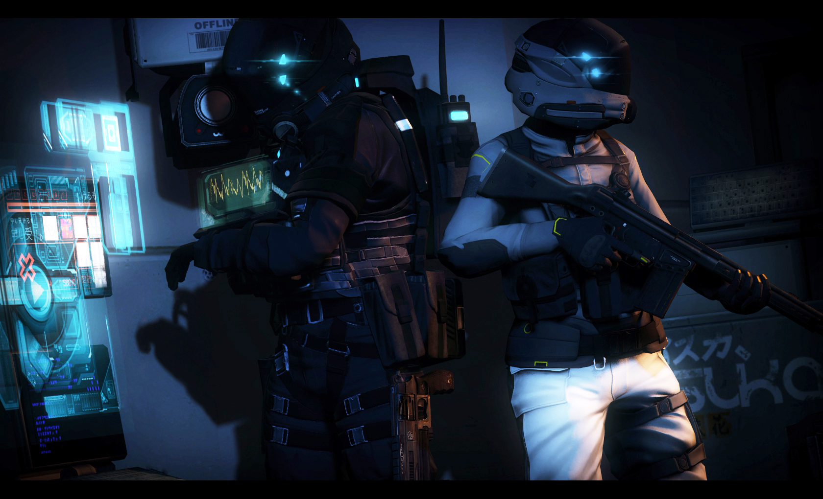 Two Operators hacking there way into a door or s- by lolcopter121