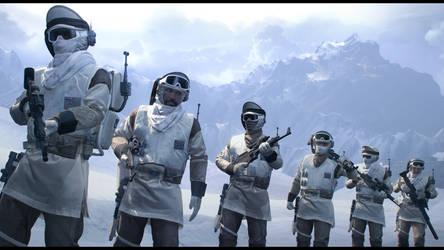 Hoth Patrol by Slim-Charles