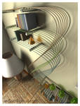 shelves that elves built