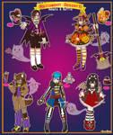 [RAFFLE] Halloween Dessert Monster Adopts [CLOSED]
