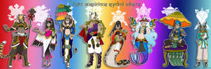 8 Auspicious Signs Adopts [CLOSED] by azume-adopts