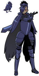 [PKMN] Corviknight for helmsless by azume-adopts