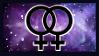 Lesbian nebula stamp 2 by b3anie