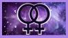 Lesbian nebula stamp 3 by b3anie