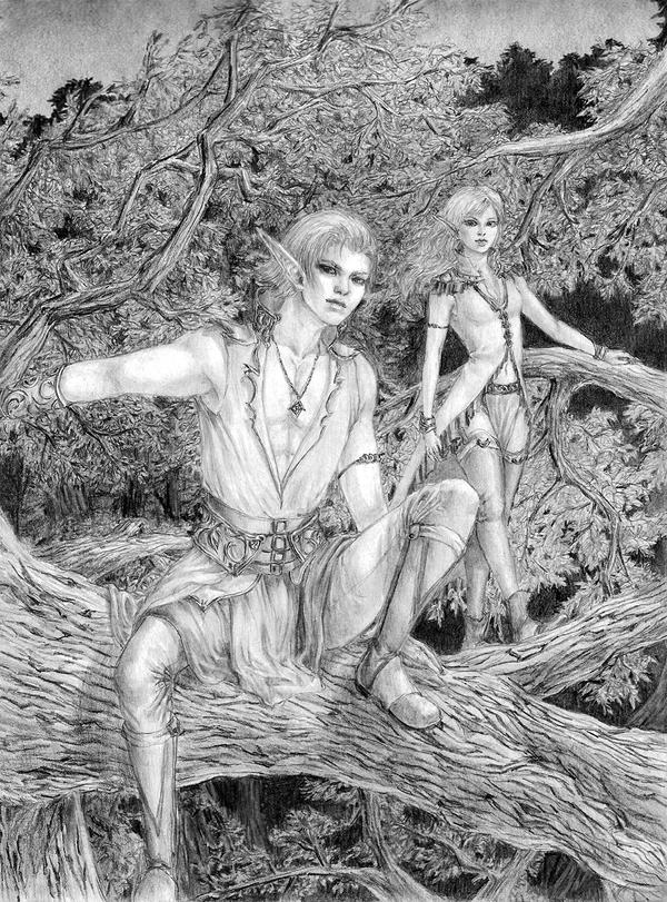 The Elves by Merodi90