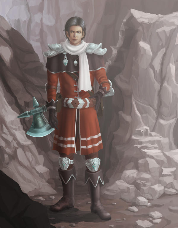 Sir Knight Auron - OC by Matschei by Merodi90