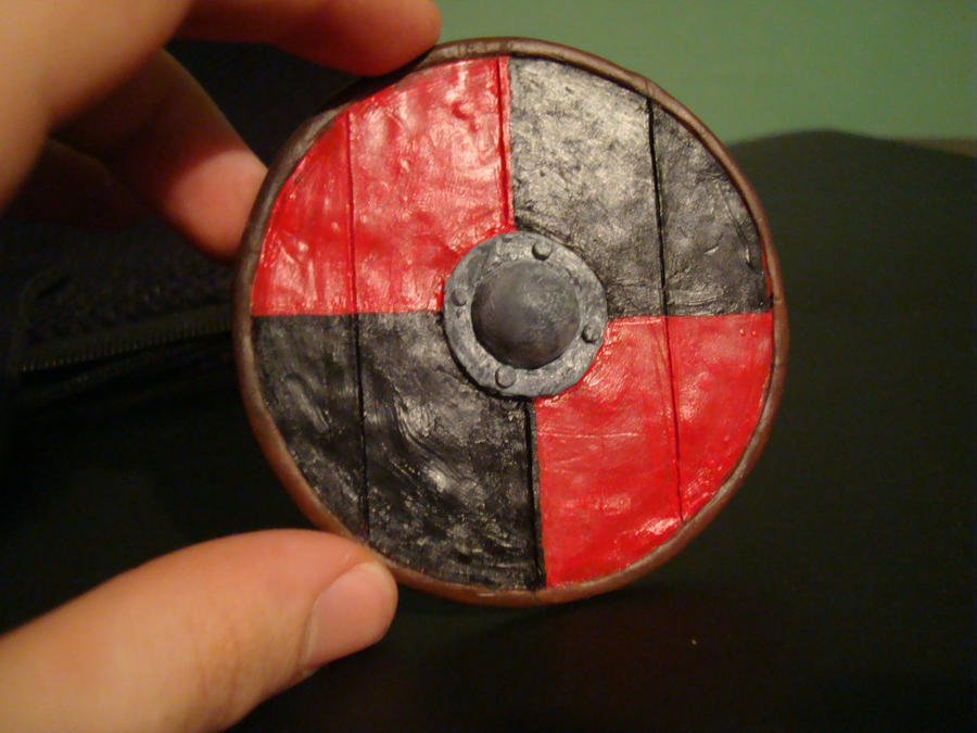Mini Viking Shield By Makeshitoholic