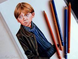 Ron Weasley - work in progress by xxMagicGlowxx