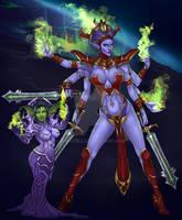 Pixxni and her Shivarra