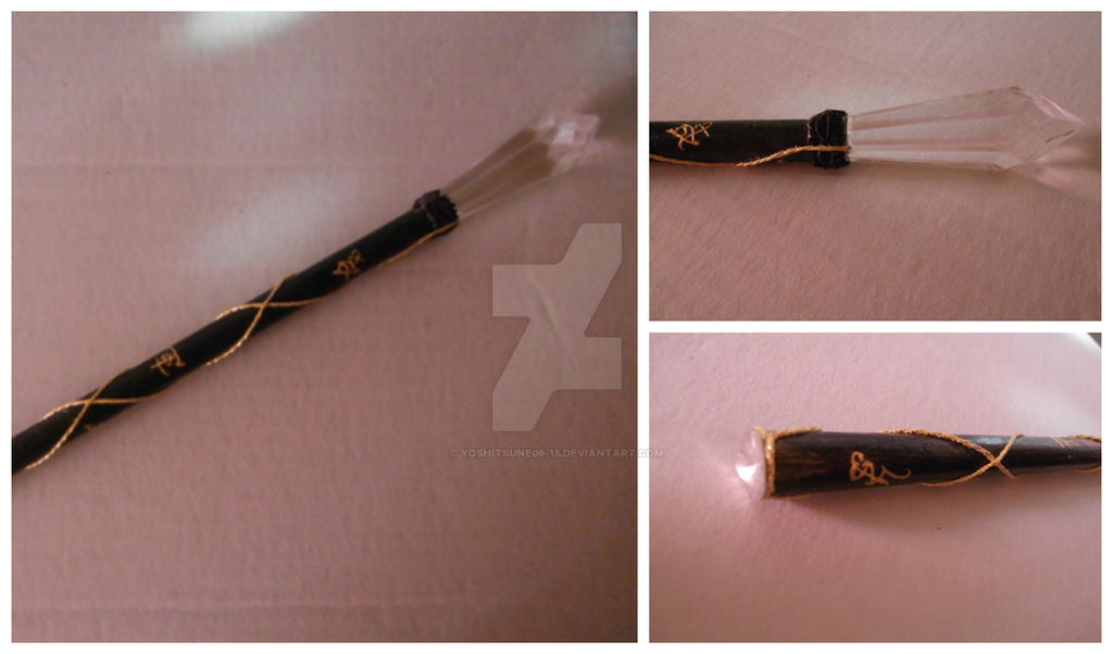 Shadowhunters Stele black and gold by Yoshitsune06-15 on ...
