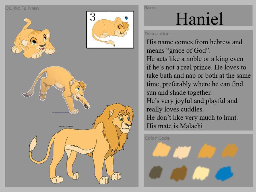 TLK Oc: Haniel by Yoshitsune06-15 on DeviantArt