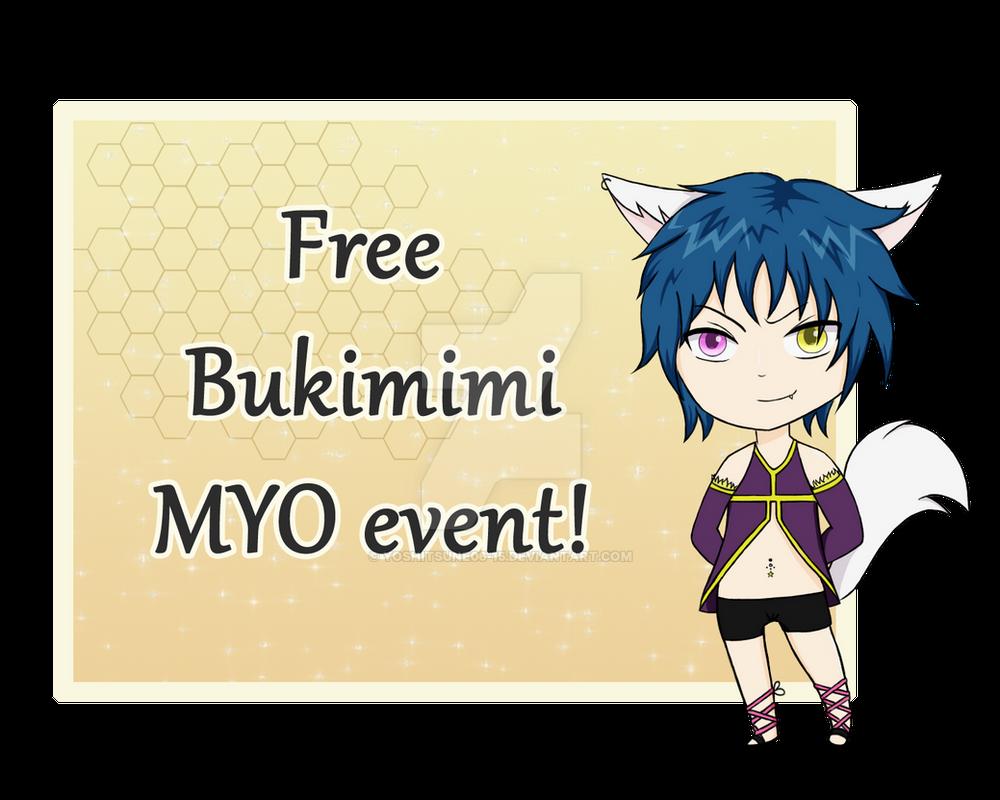 [CLOSED] Free Bukimimi MYO event! by Yoshitsune06-15