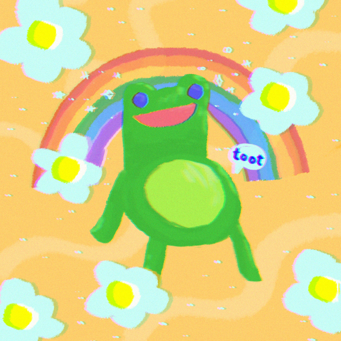 Froggy Chair Aka God By Sarah Png On Deviantart