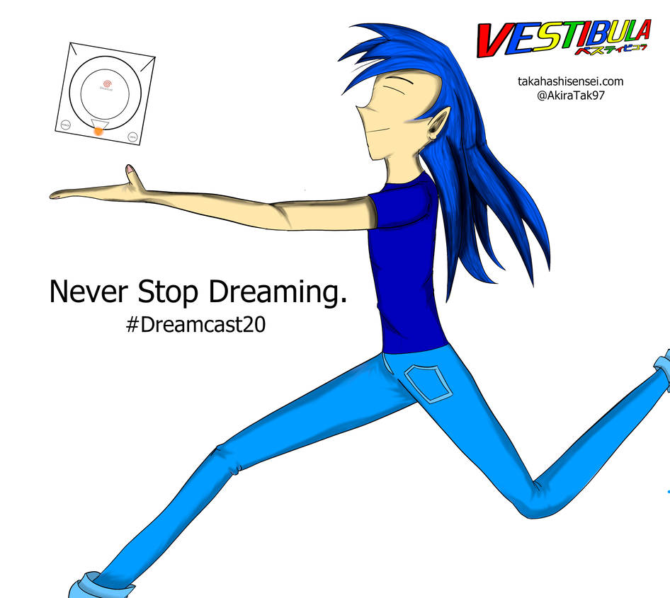 Never Stop Dreaming: 20 Years of Dreamcast by TakahashiAkira