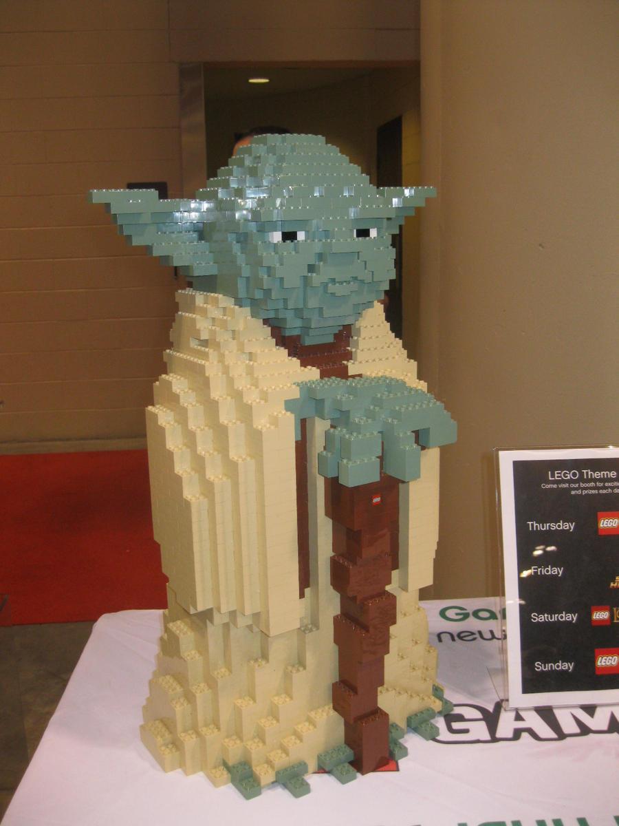 Lego Yoda by Brutechieftan