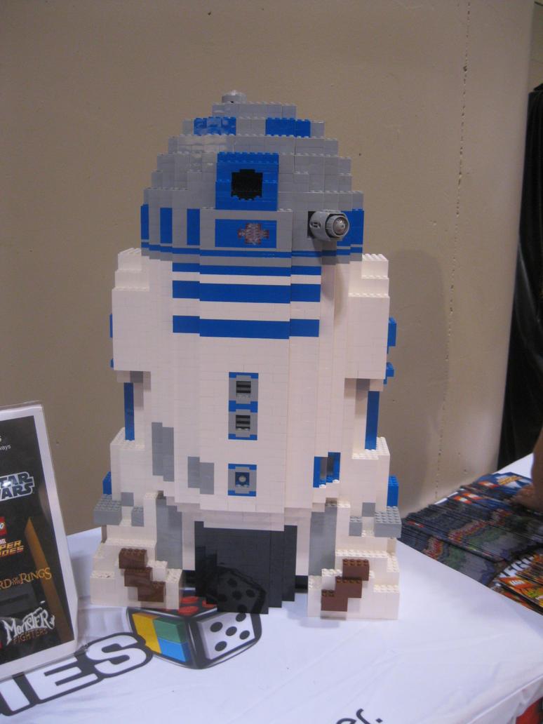 Lego R2-D2 by Brutechieftan