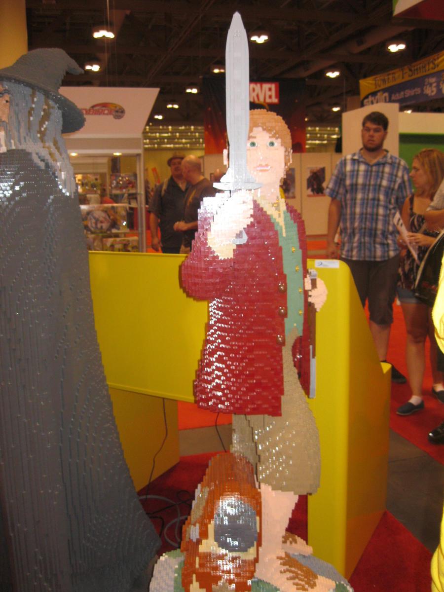 Lego Frodo Baggins by Brutechieftan
