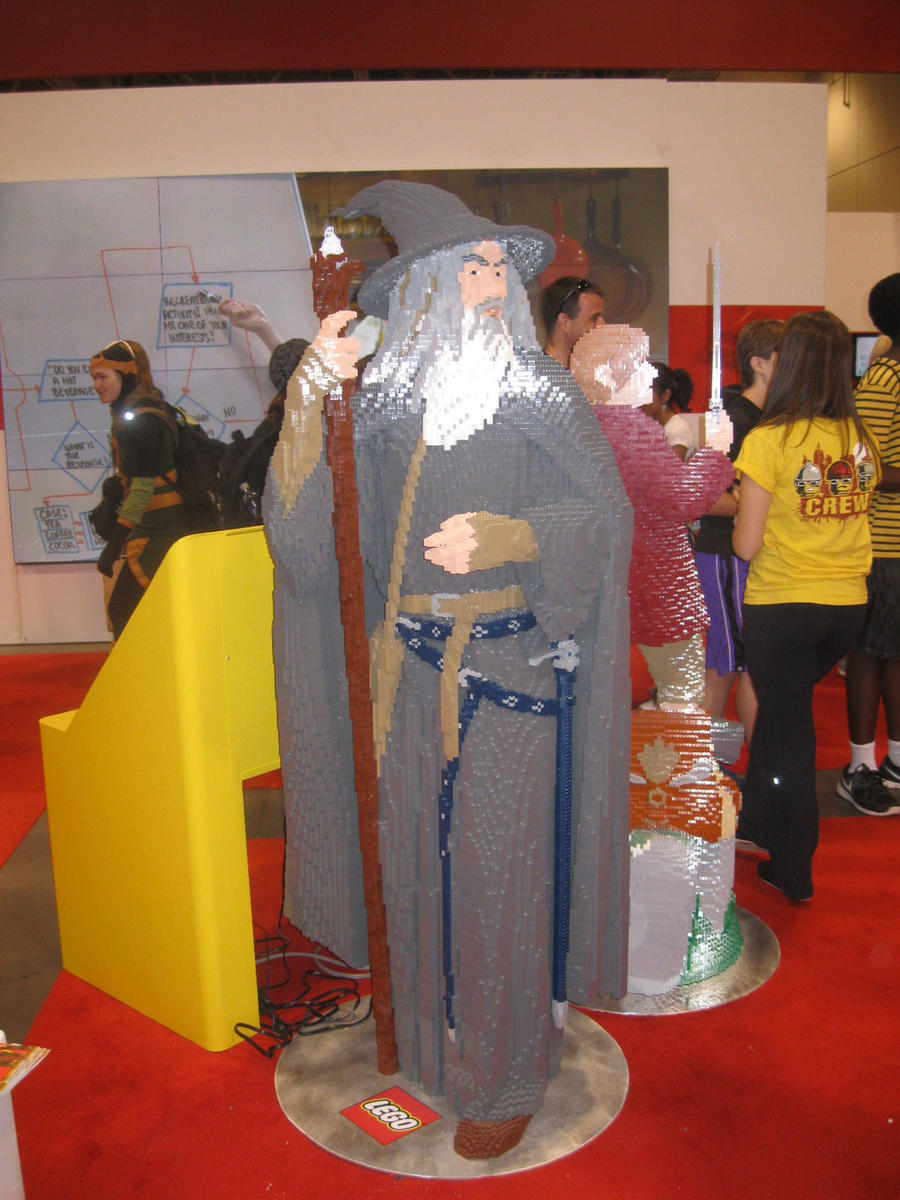 Lego Gandalf the Grey by Brutechieftan