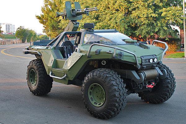 REAL Halo 4 warthog by Brutechieftan