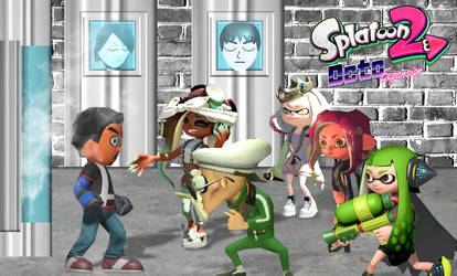 A Human in Splatoon by computerboy64