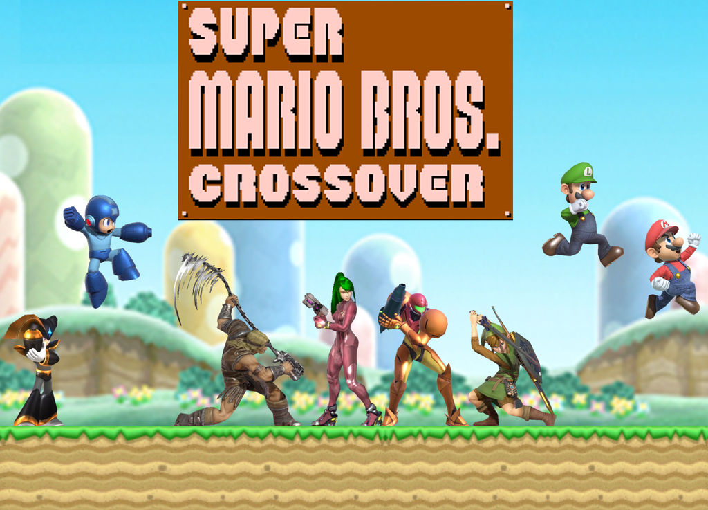 Ultimate Scenario-Super Mario Bros  Crossover by