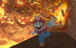 Mario Explores-Bowser's Castle (Wii U)