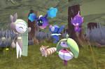 Request-Meloetta meets more pokemon