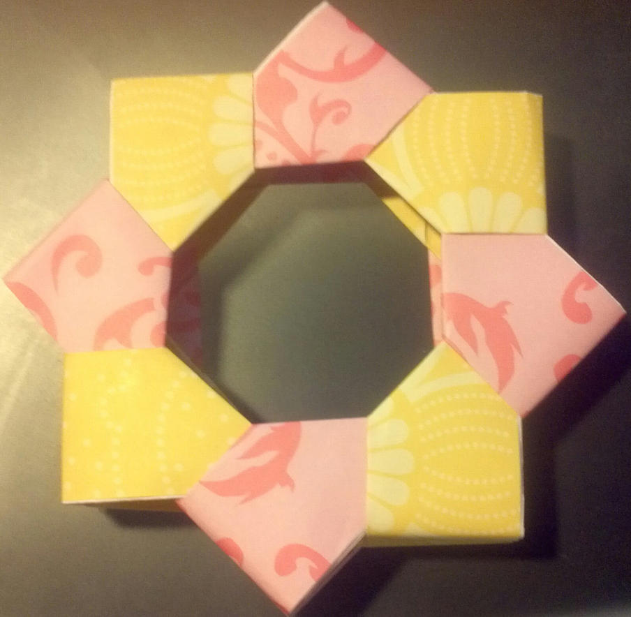Origami Picture Frame By Zignide On Deviantart