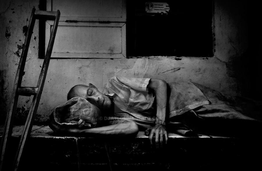 Homeless sleepless by djati